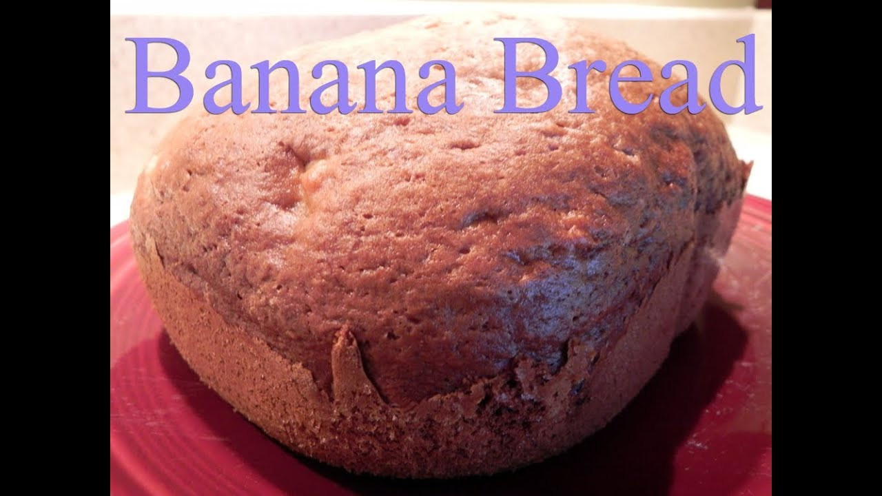 Banana Bread Bread Machine  Banana Bread Recipe for Bread Machines