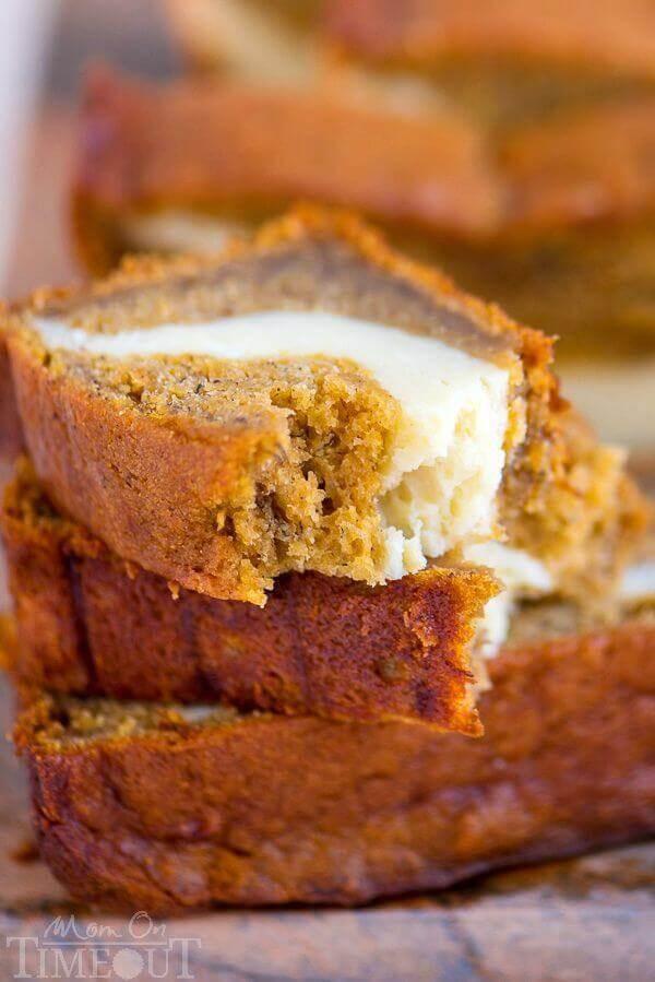 Banana Bread Cheesecake  Pumpkin Cheesecake Banana Bread The Best Blog Recipes
