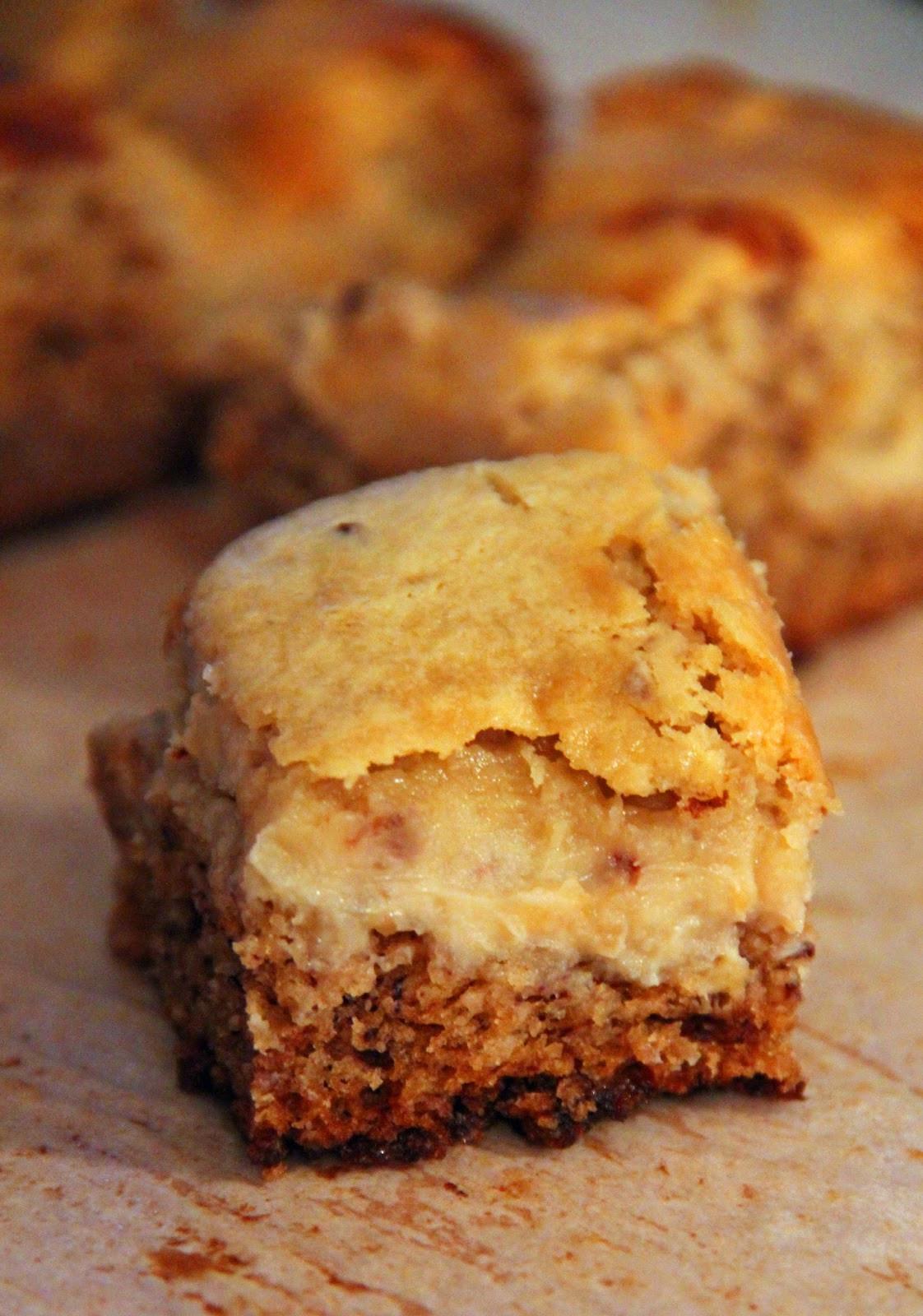 Banana Bread Cheesecake  Jo and Sue Banana Bread Cheesecake Bars