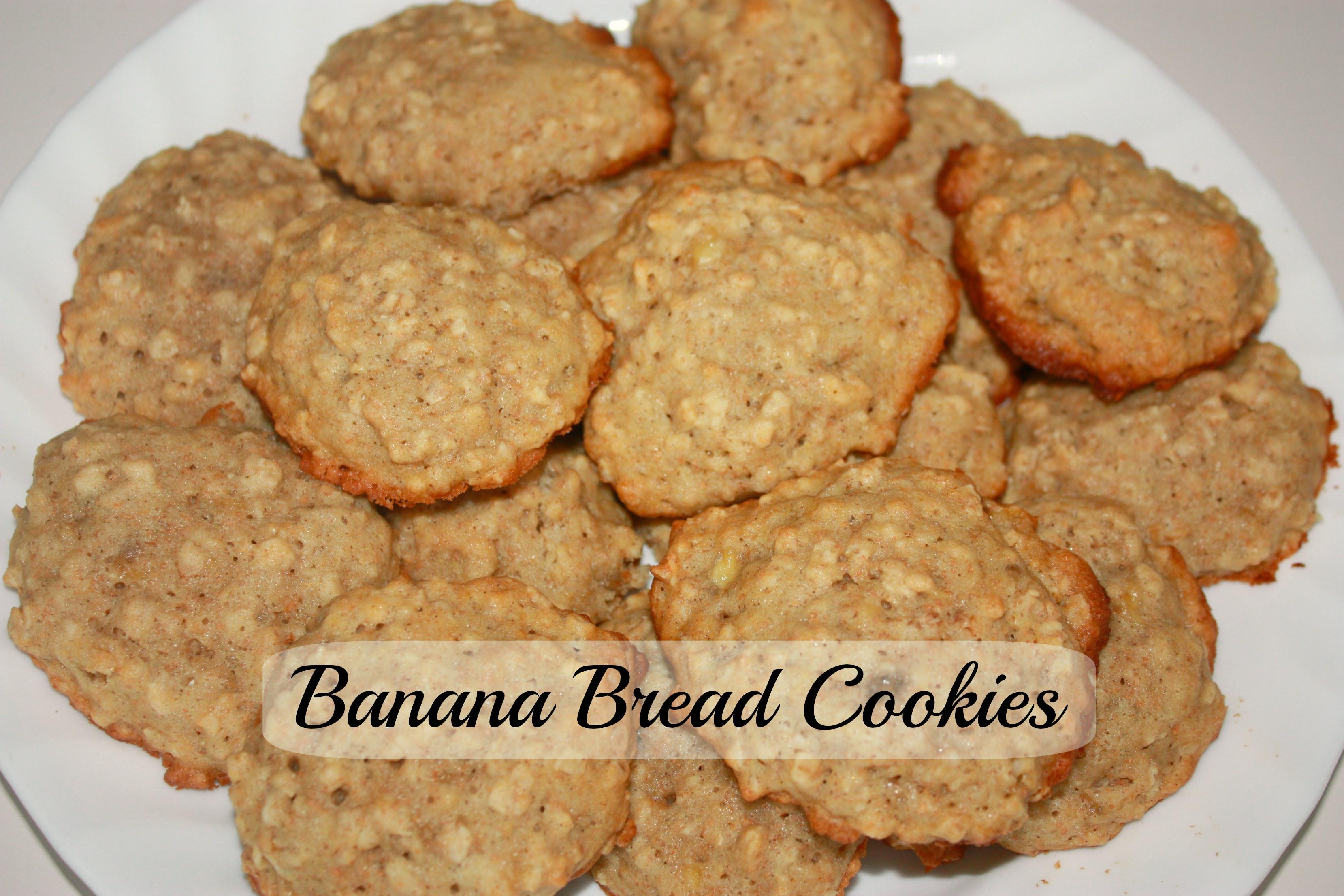 Banana Bread Cookies  Banana Bread Cookies The Write Balance
