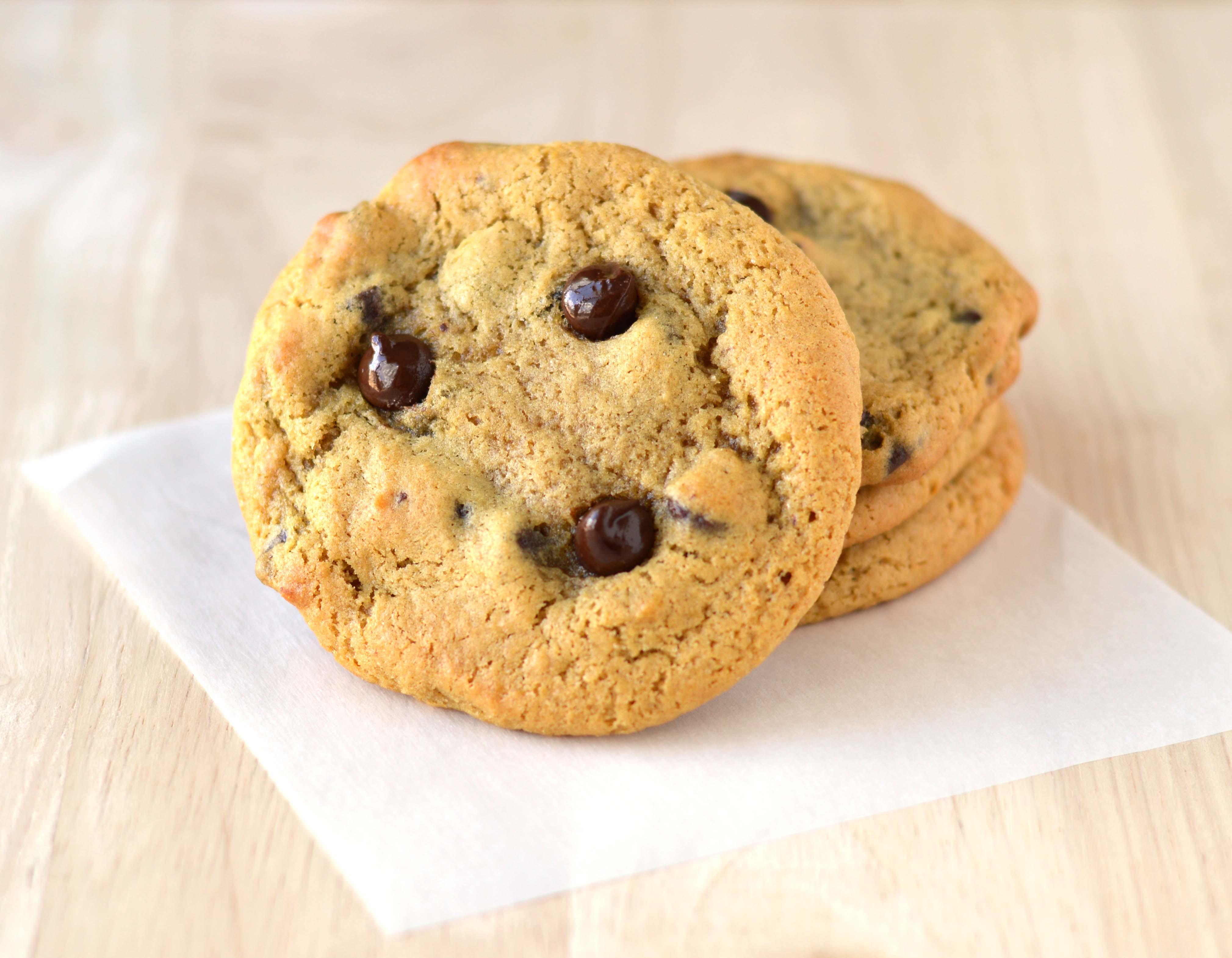 Banana Bread Cookies  Chocolate chip banana bread cookies Friday is Cake Night