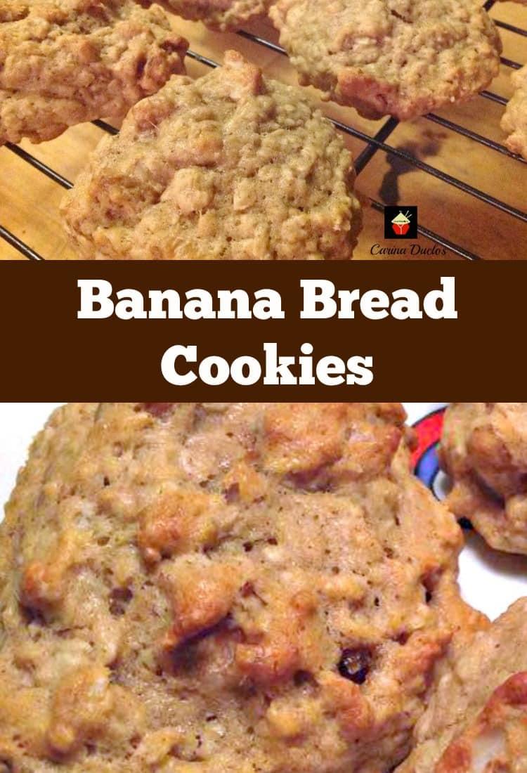 Banana Bread Cookies  Banana Bread Cookies