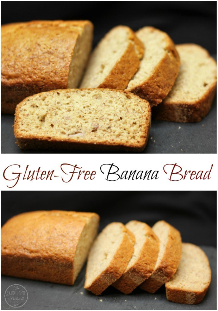 Banana Bread Gluten Free  Gluten Free Banana Bread The Gluten Free Foodsmith