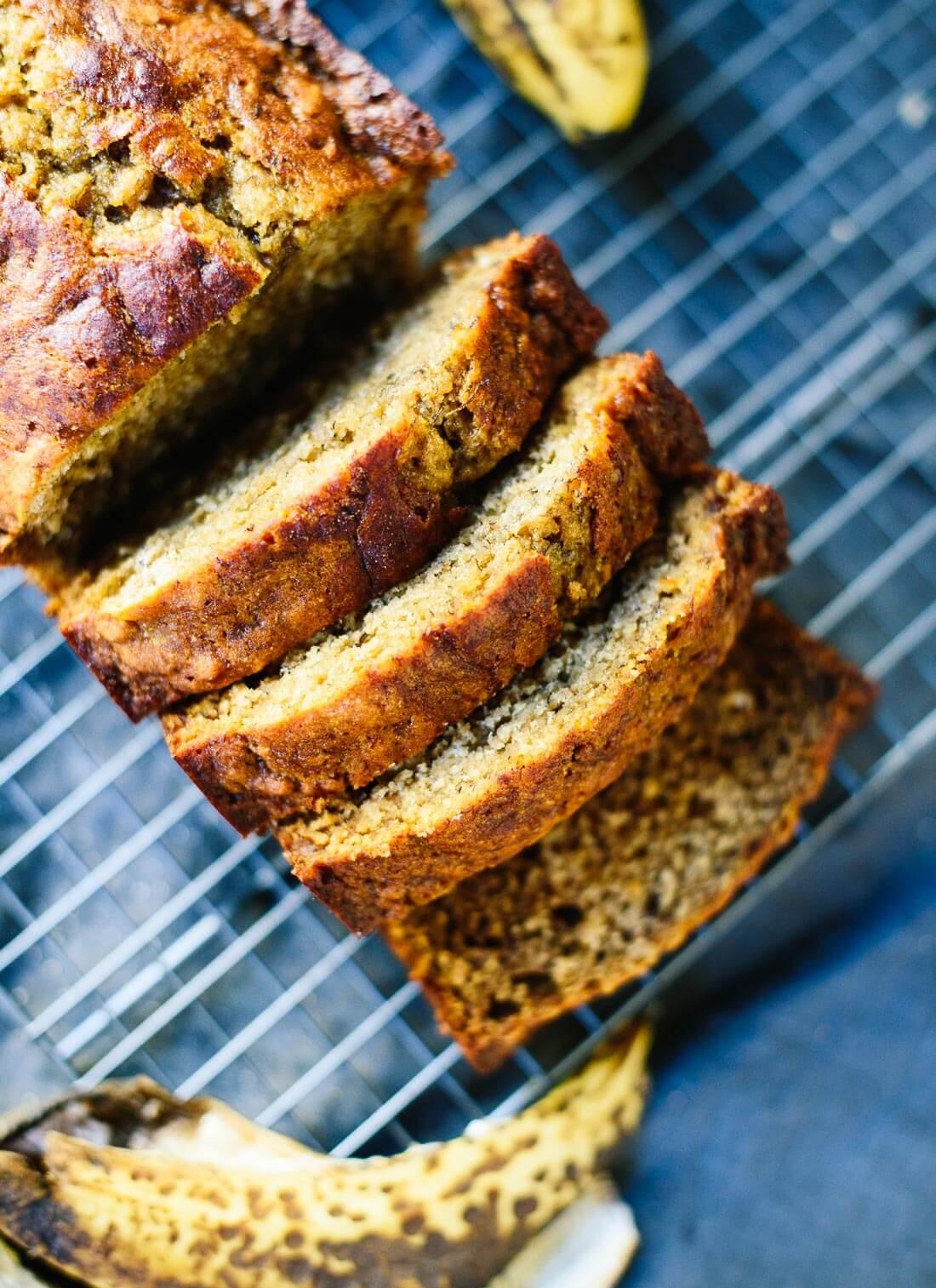 Banana Bread Healthy  Healthy Banana Bread Recipe Cookie and Kate
