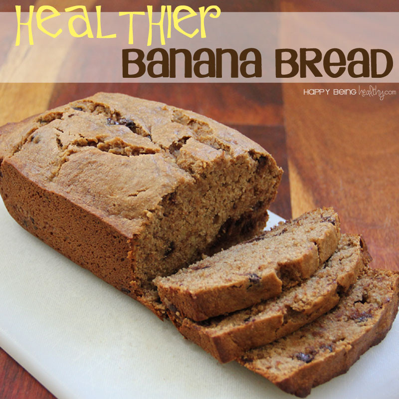Banana Bread Healthy  Healthier Banana Bread and Other Fun Stuff