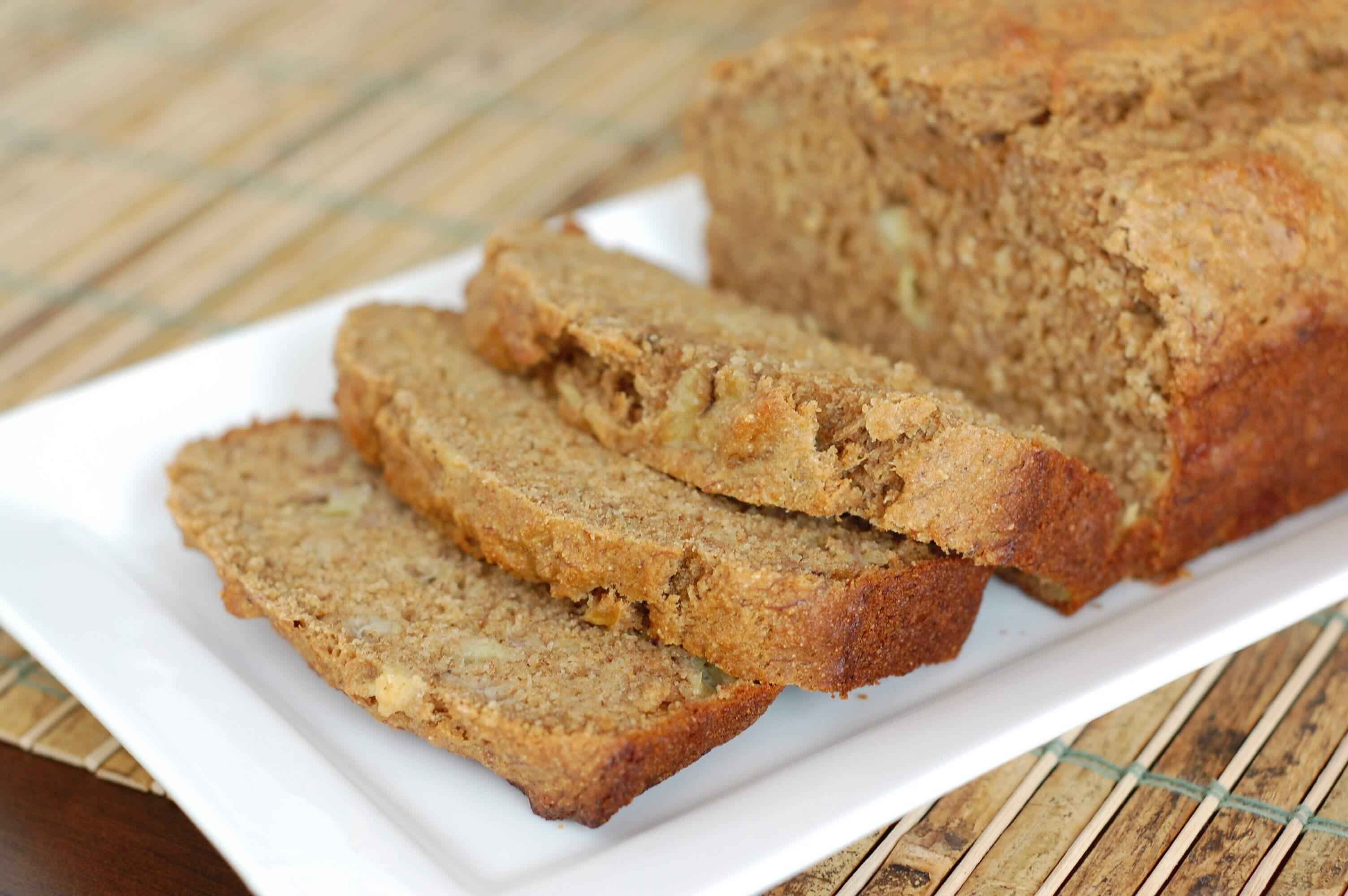 Banana Bread Healthy  Recipe Whole Wheat Banana Bread 100 Days of Real Food