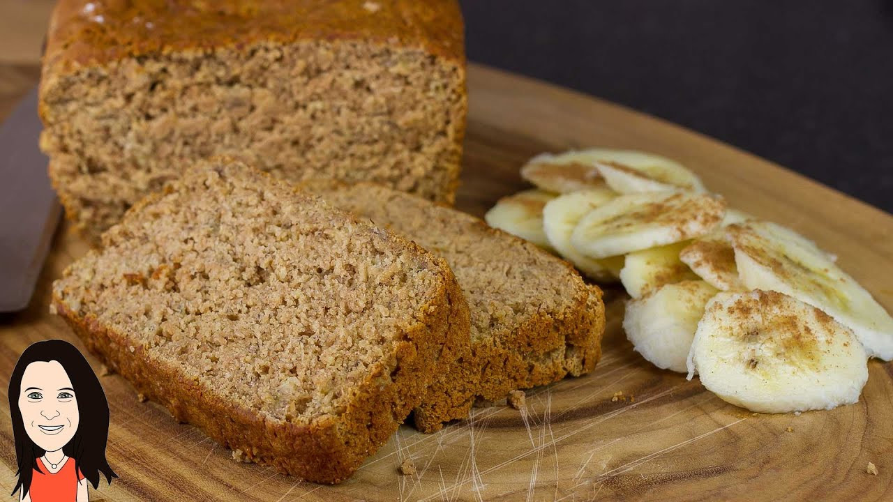 Banana Bread No Eggs  Gluten Free Banana Bread Vegan Recipe No eggs Dairy or