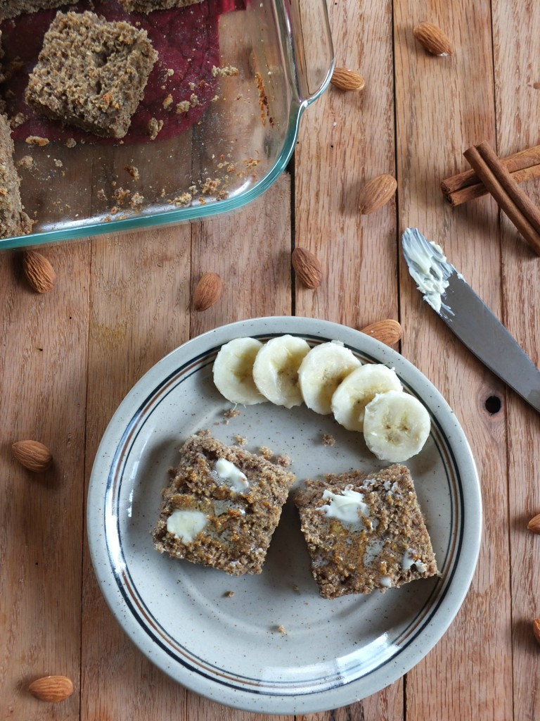 Banana Bread No Eggs  Paleo Banana Bread Bars No Egg Whites