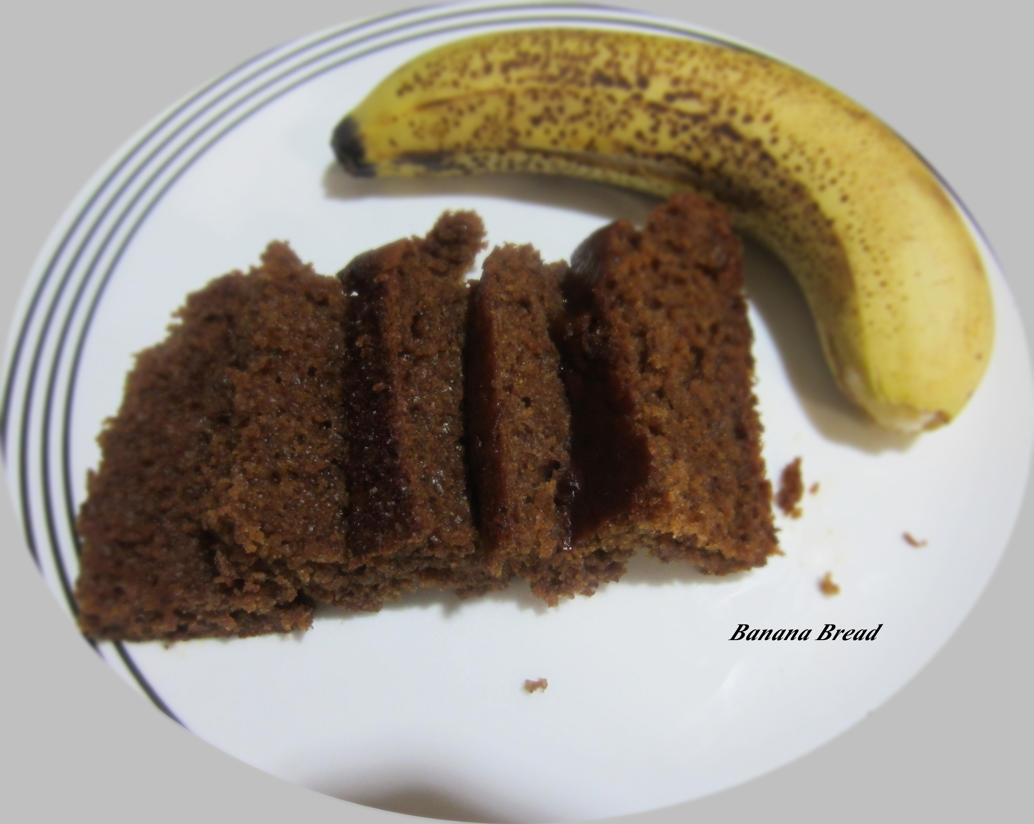 Banana Bread No Eggs  Banana Bread – No Egg