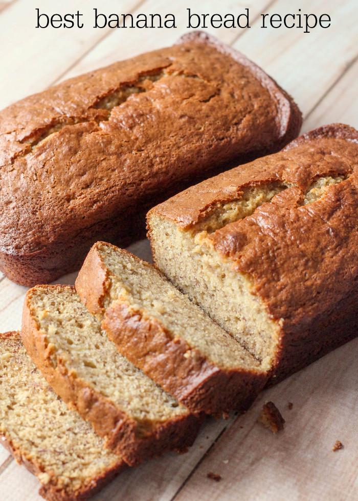 Banana Bread Recipe  best banana bread recipe moist