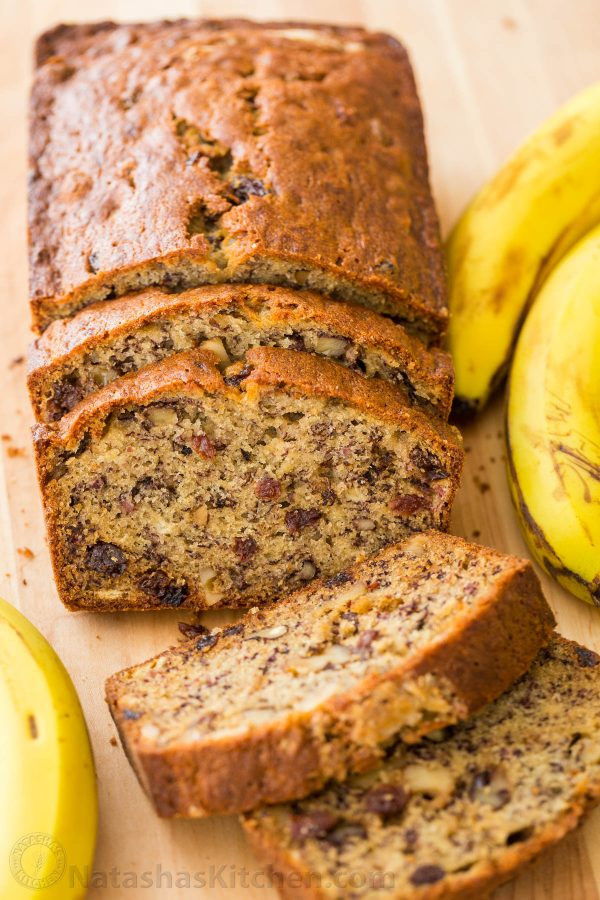 Banana Bread Recipe Moist  Banana Bread Recipe VIDEO NatashasKitchen