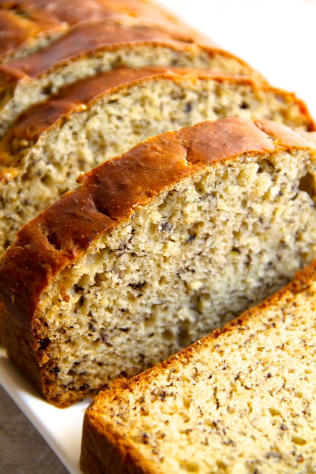 Banana Bread Recipe No Butter  Greek Yogurt Banana Bread