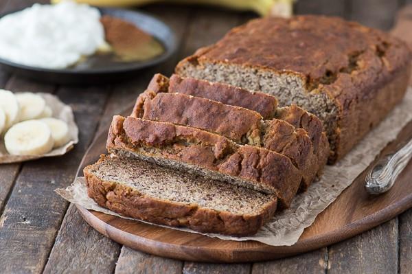 Banana Bread Recipe No Butter  Healthier Banana Bread