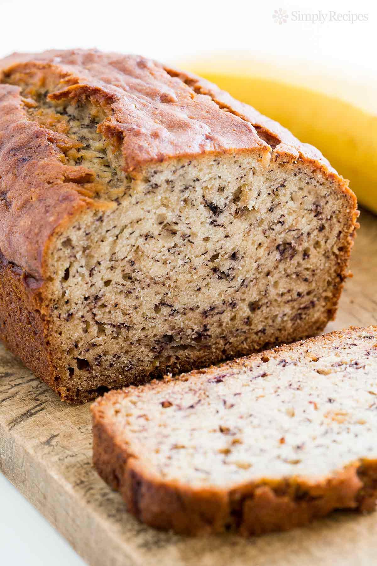 Banana Bread Recipe No Butter  Banana Bread Recipe