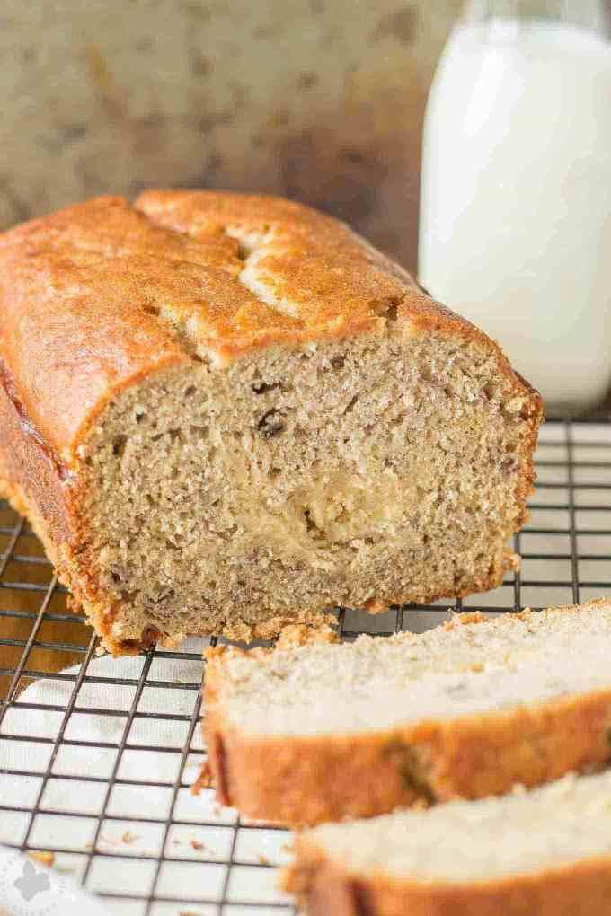 Banana Bread Recipe With Brown Sugar  Brown Sugar Stuffed Banana Bread