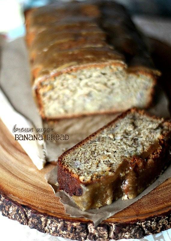 Banana Bread Recipe With Brown Sugar  Brown Sugar Banana Bread Cookies and Cups