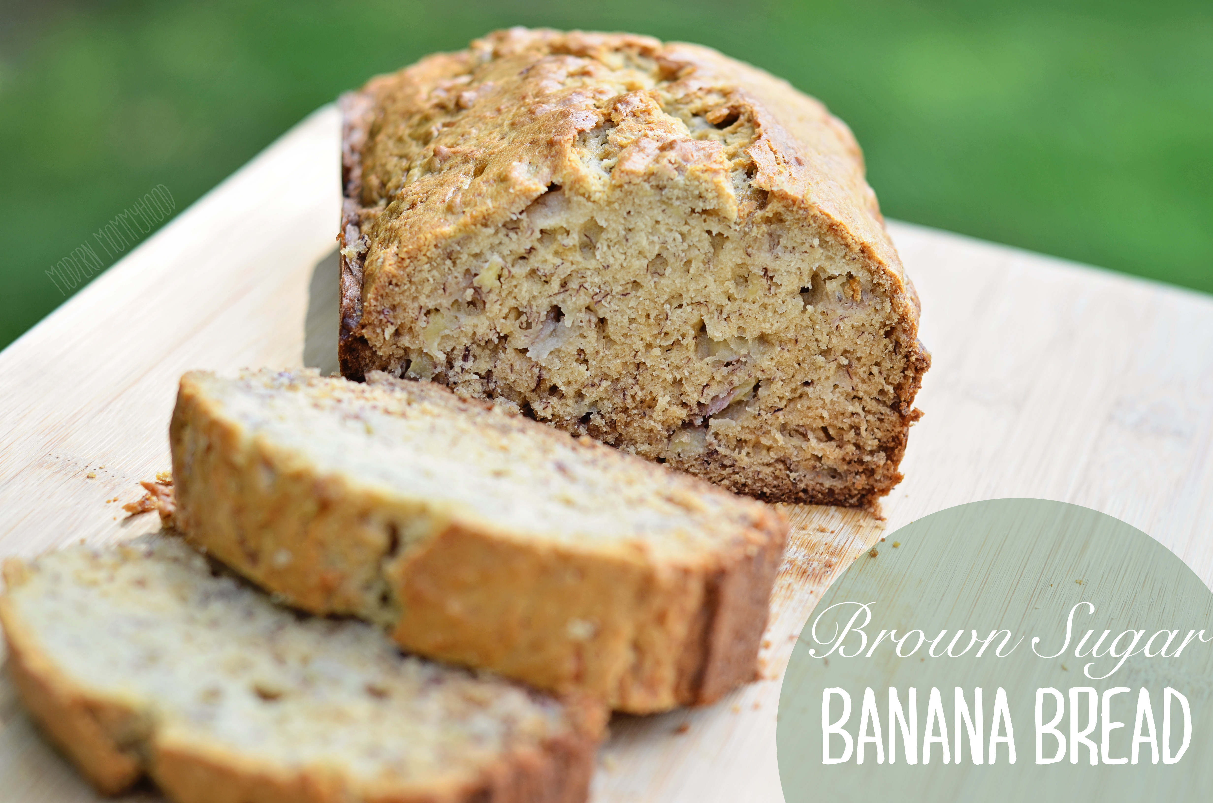 Banana Bread Recipe With Brown Sugar  Brown Sugar Banana Bread Modernly Morgan