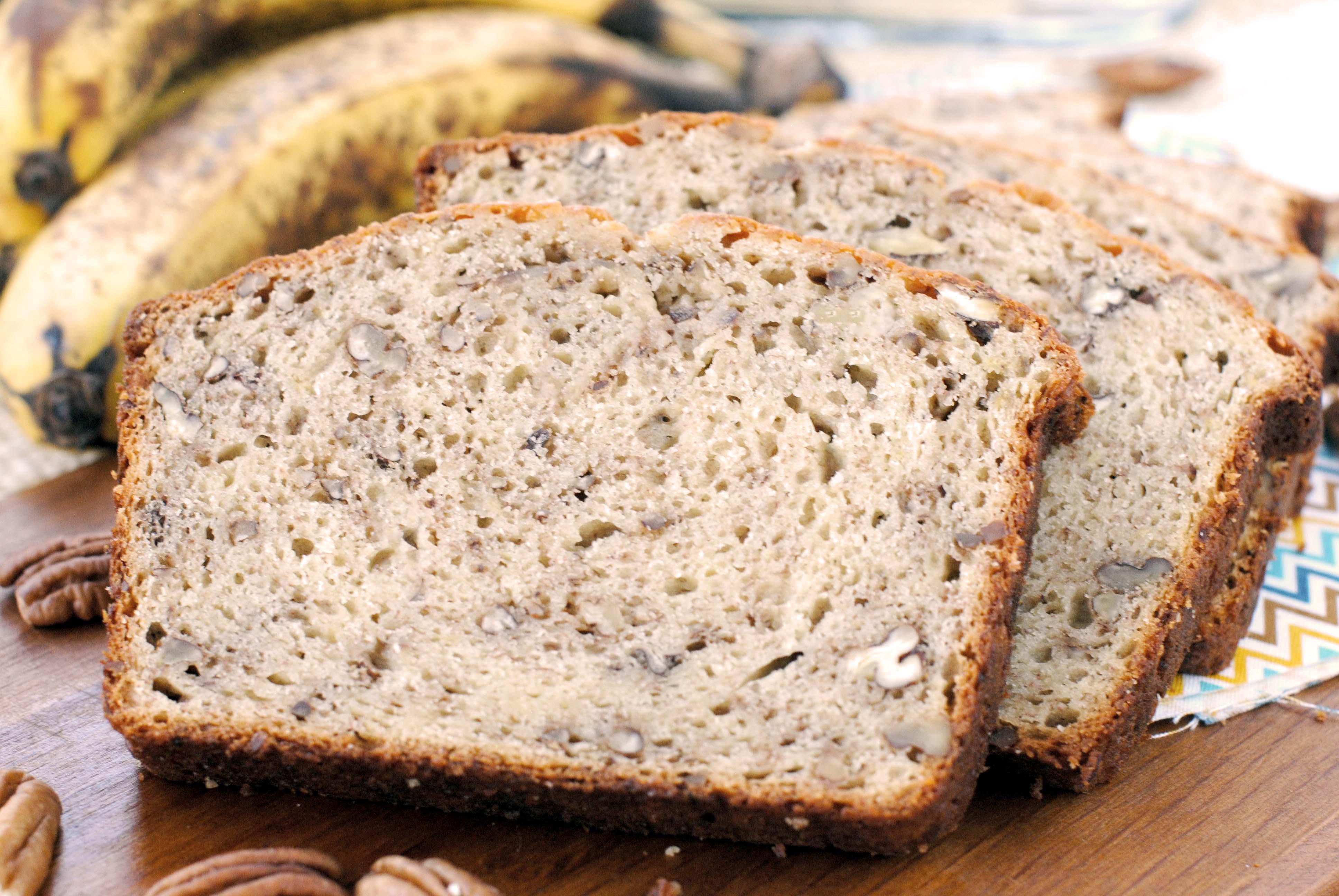 Banana Bread Recipe With Sour Cream  Sour Cream Cinnamon Banana Bread