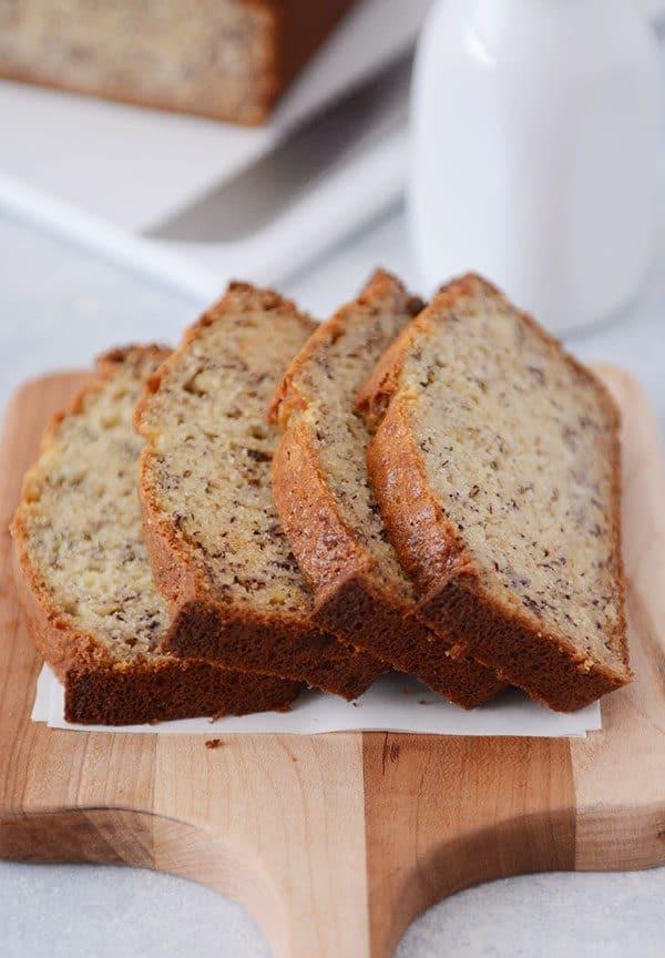Banana Bread Recipe With Sour Cream  Sour Cream Banana Bread Recipe e Bowl