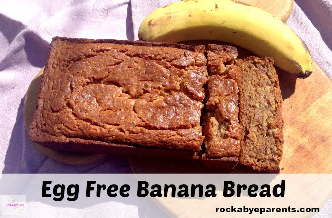 Banana Bread Recipe Without Eggs  Egg Free Banana Bread Simple Banana Bread Recipe with