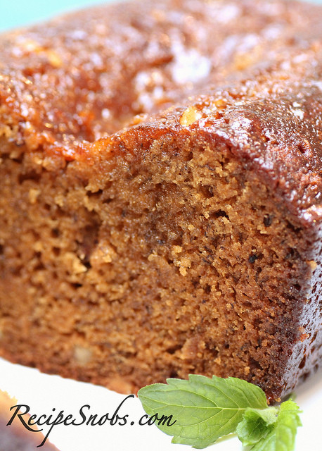 Banana Bread With Brown Sugar  Brown Sugar Glazed Banana Bread Recipe Snobs