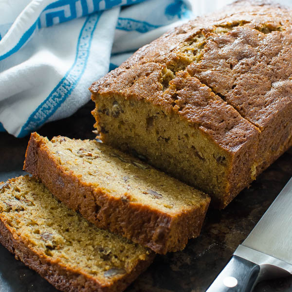 Banana Bread With Brown Sugar  Bourbon Brown Sugar Banana Bread