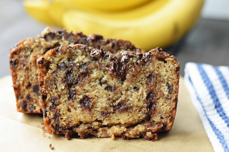 Banana Bread With Chocolate Chips  Chocolate Chip Banana Bread