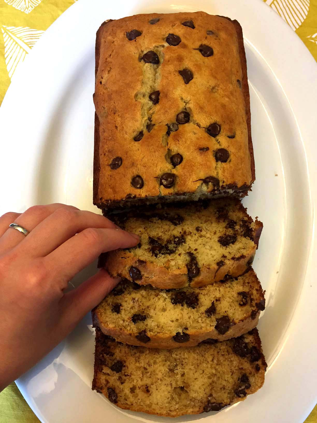 Banana Bread With Chocolate Chips  Easy Chocolate Chip Banana Bread Recipe – Best Ever