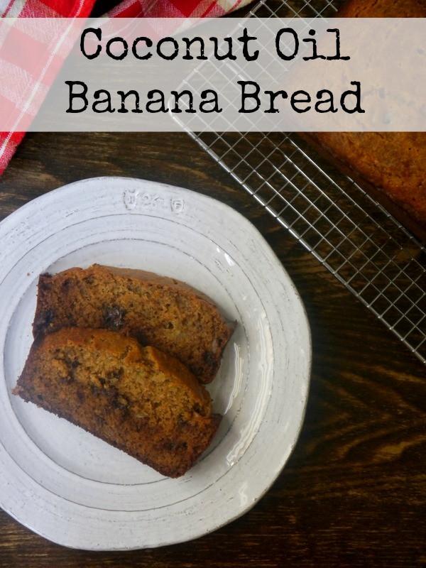 Banana Bread With Coconut Oil  Coconut Oil Banana Bread My Bacon Wrapped Life