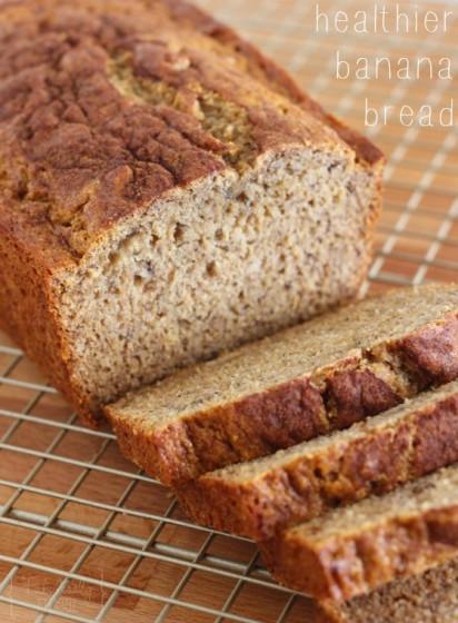 Banana Bread With Coconut Oil  Healthier Banana Bread Recipe Fabulessly Frugal