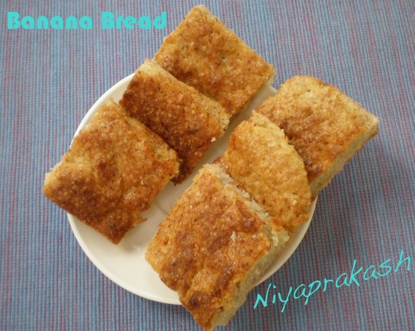 Banana Bread Without Eggs  Niya s World Banana Bread without eggs