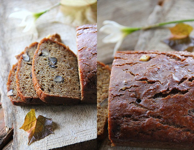 Banana Bread Without Eggs  Spicy Chilly Banana Walnut Bread without eggs