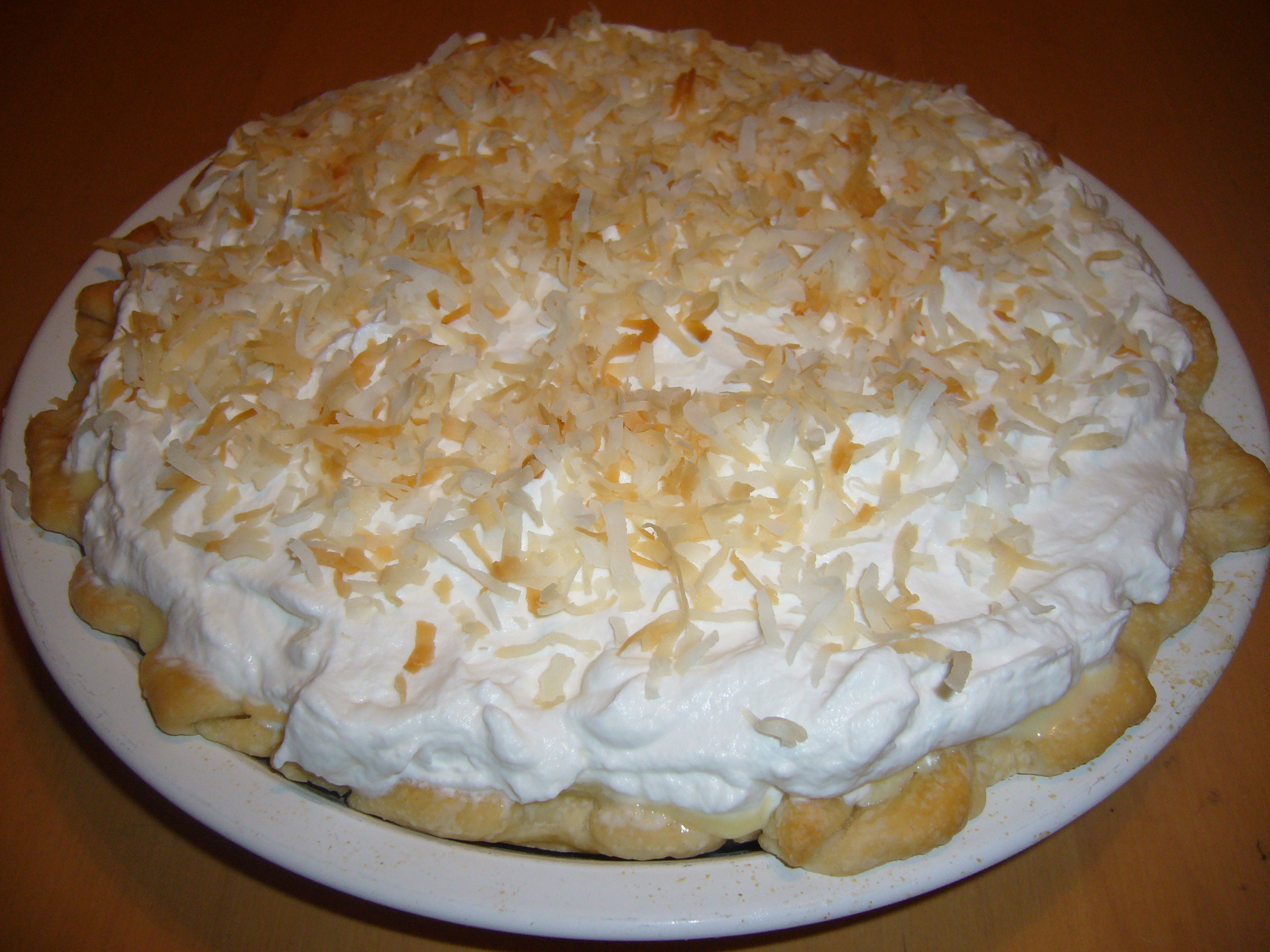 Banana Coconut Cream Pie  Coconut Banana Cream Pie