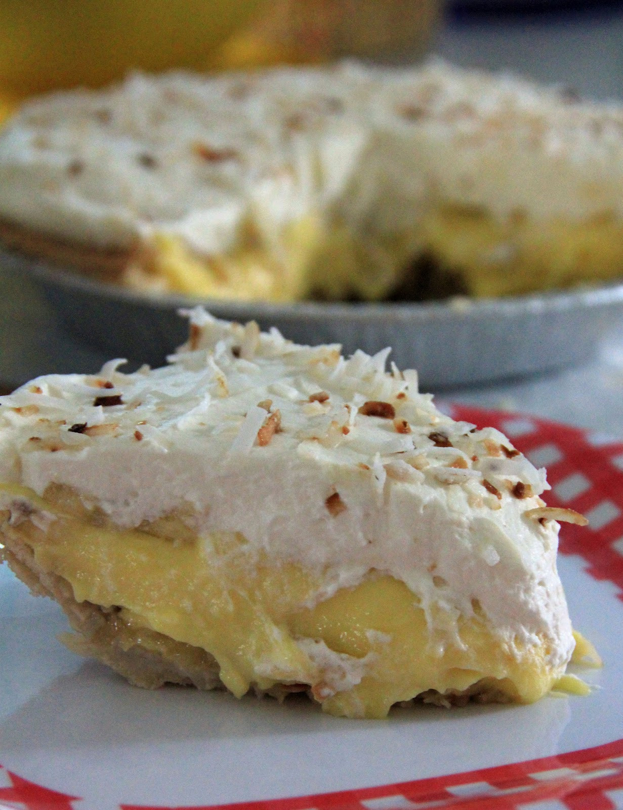 Banana Coconut Cream Pie  Jo and Sue Banana Coconut Cream Pie