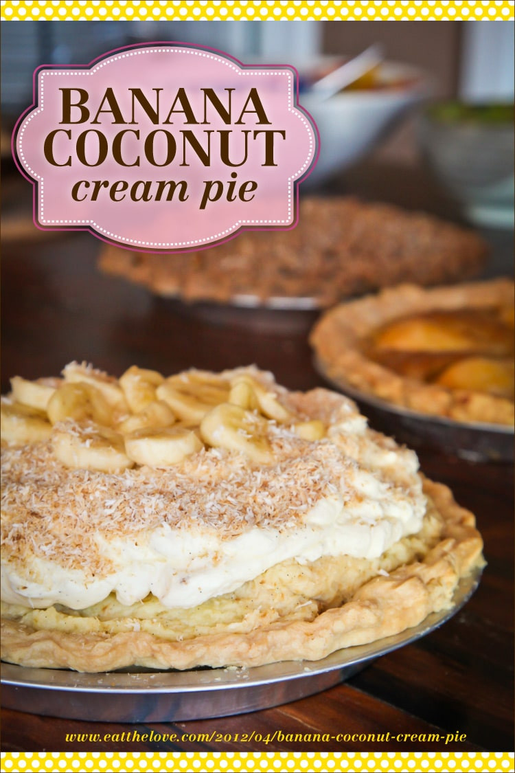 Banana Coconut Cream Pie  Banana Coconut Cream Pie Recipe