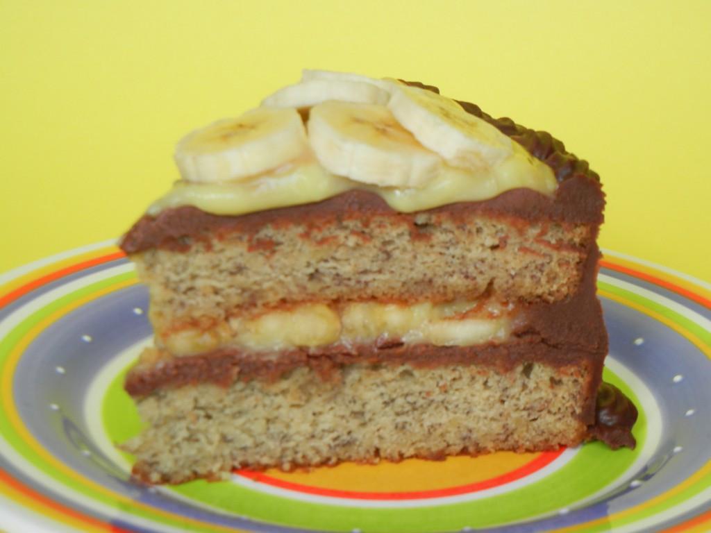 Banana Cream Cake  Chocolate Banana Cream Cake Sarah Rae Vargas