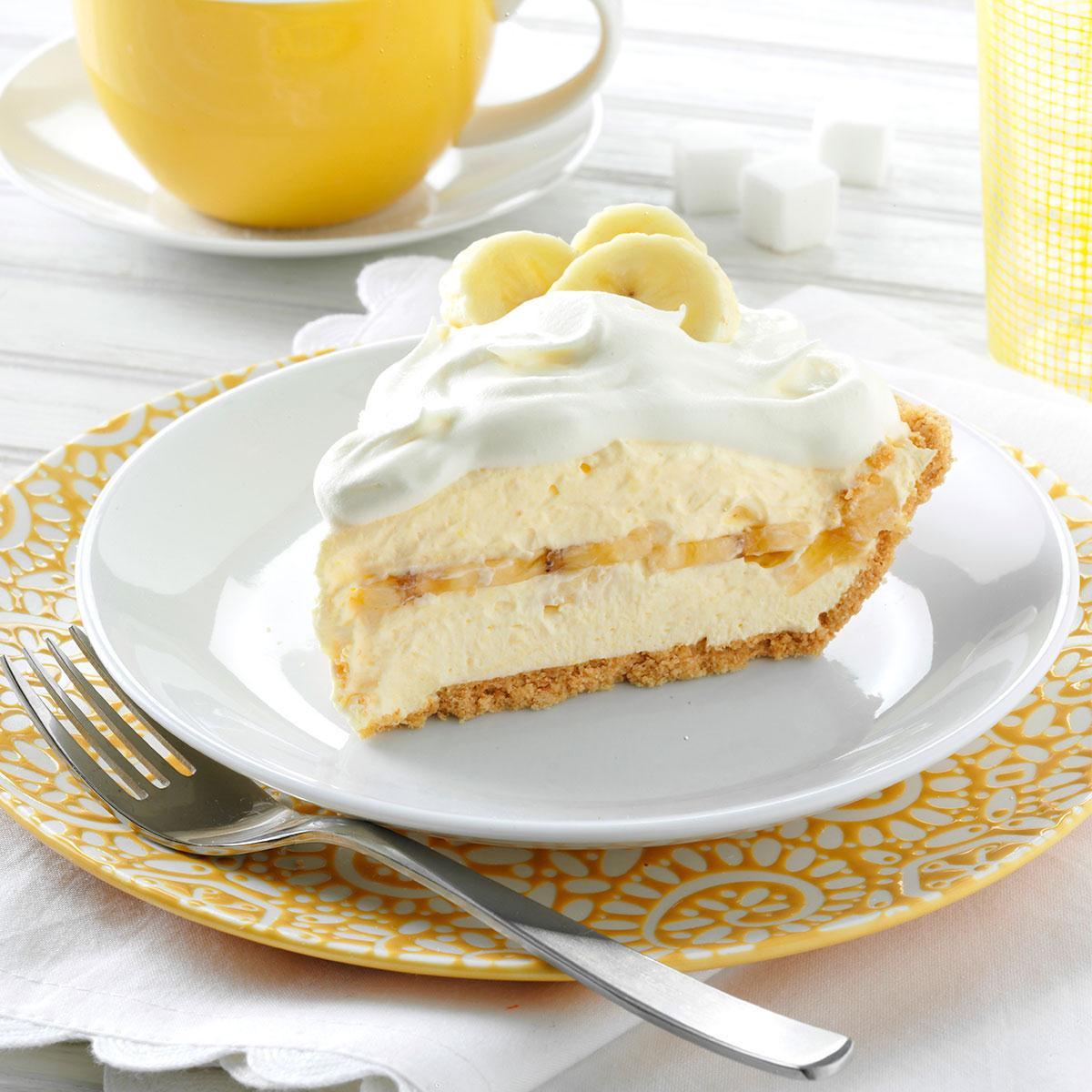 Banana Cream Pie  Favorite Banana Cream Pie Recipe