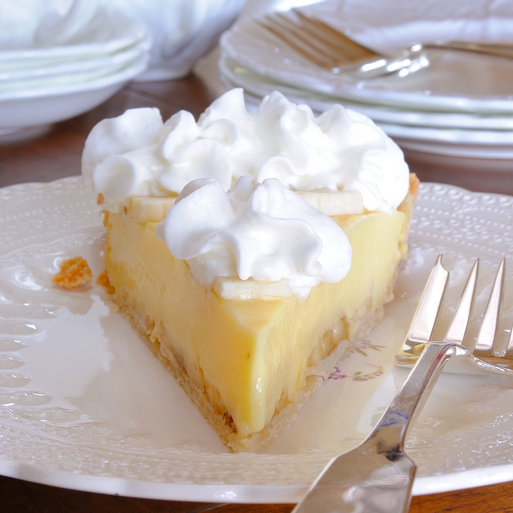 Banana Cream Pie  JULES FOOD Mom s Banana Cream Pie