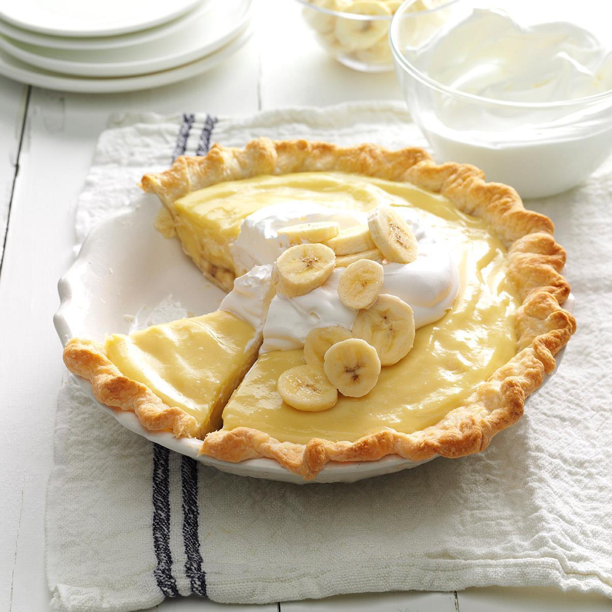 Banana Cream Pie  Banana Cream Pie Recipe