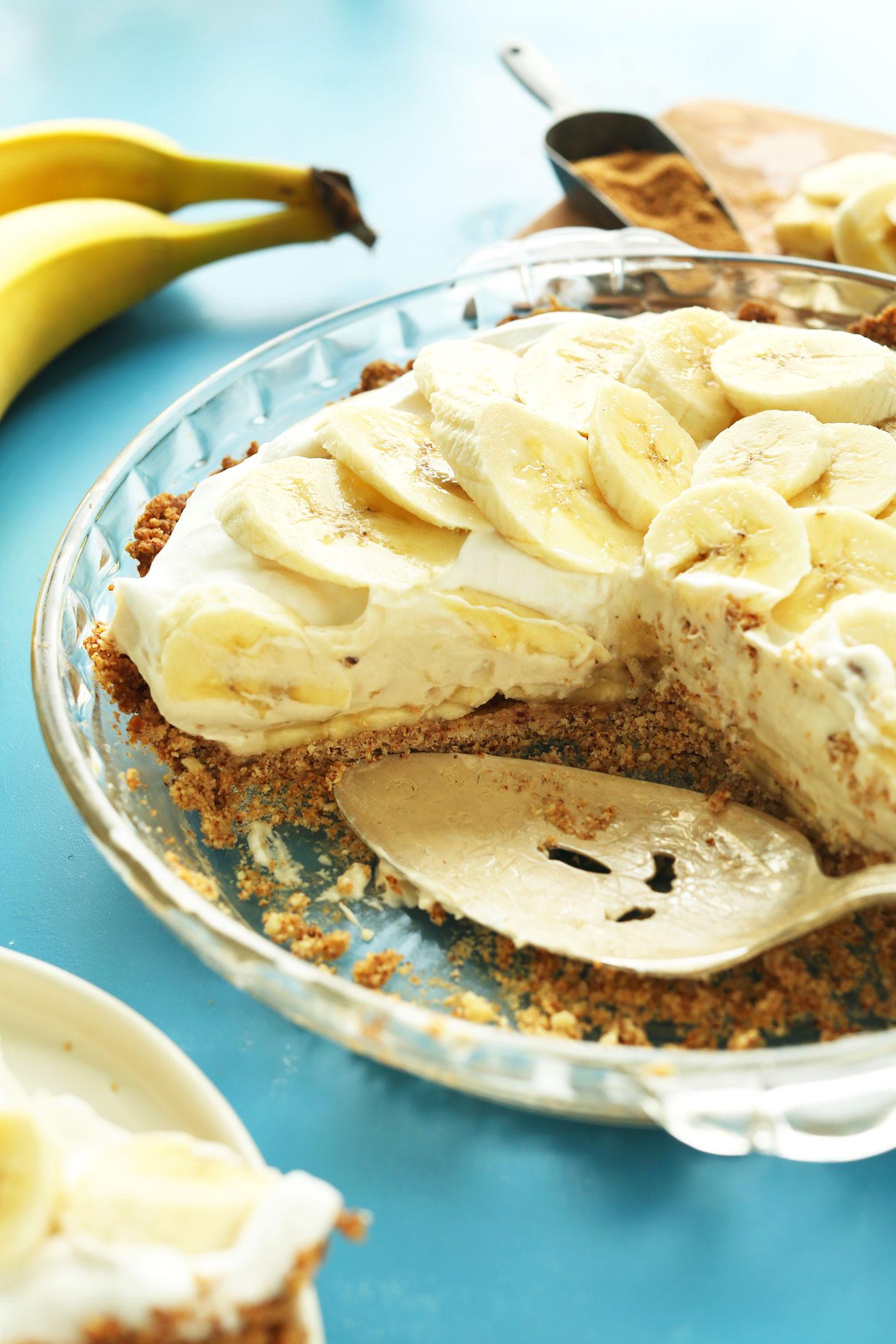 Banana Cream Pie  Vegan Banana Cream Pie
