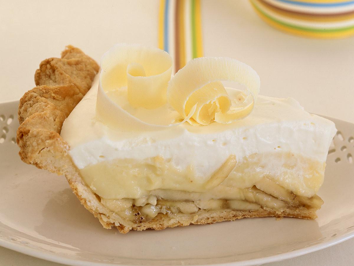 Banana Cream Pie  Banana Cream Pie Recipe Joyce White