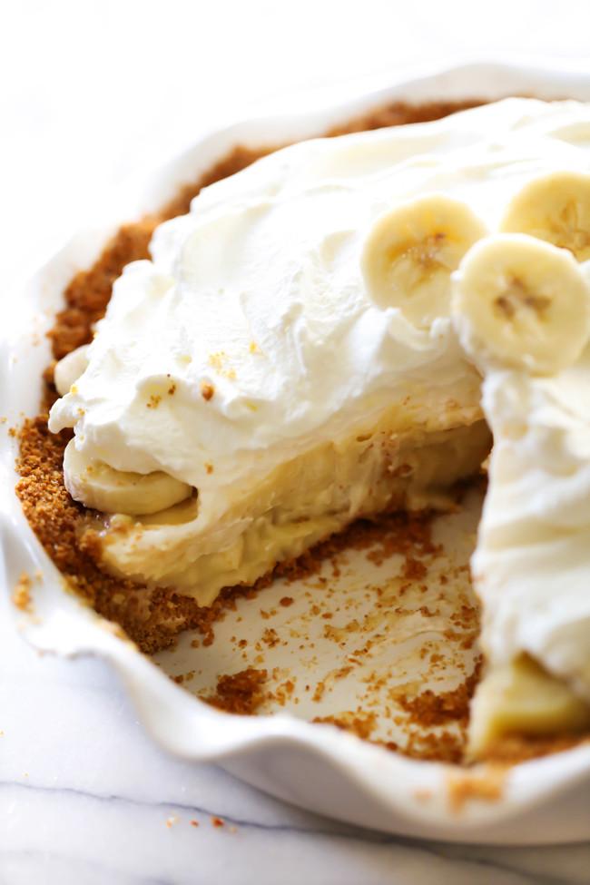 Banana Cream Pie  Best Ever Banana Cream Pie Chef in Training