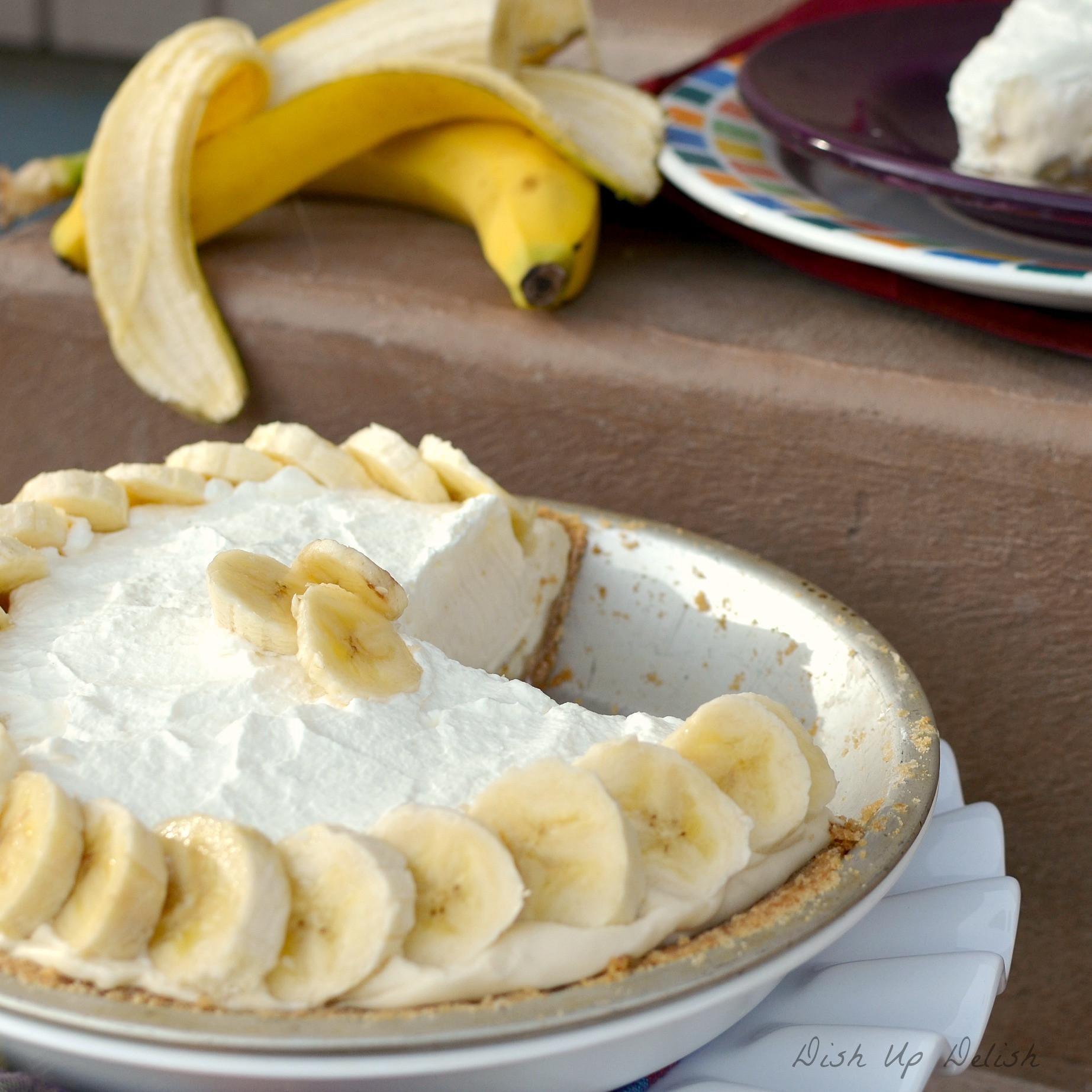 Banana Cream Pie  From scratch Banana Cream Pie
