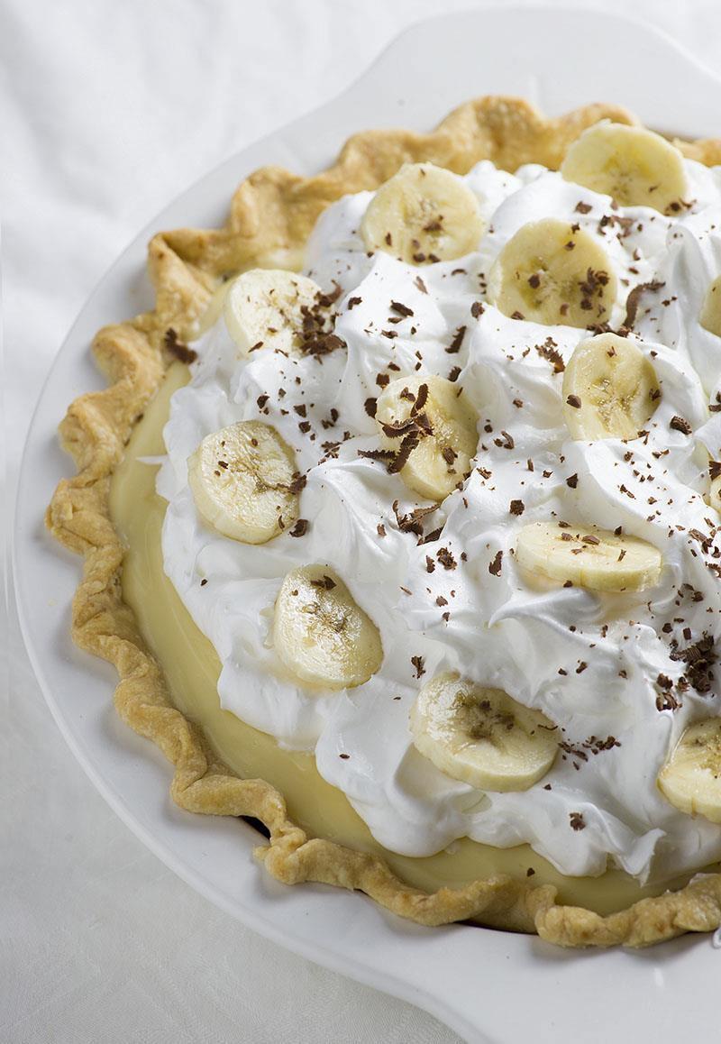 Banana Cream Pie  Old Fashioned Banana Cream Pie