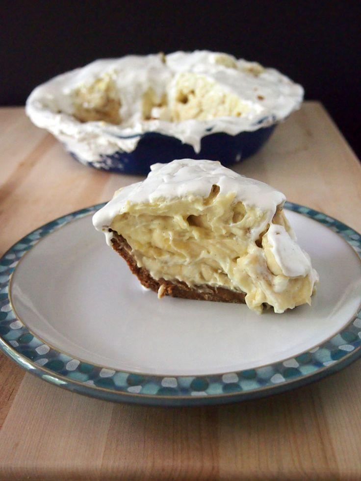 Banana Cream Pie Graham Cracker Crust  Emeril's Famous Banana Cream Pie Recipe