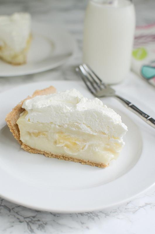 Banana Cream Pie Graham Cracker Crust  Banana Cream Pie Fake Ginger
