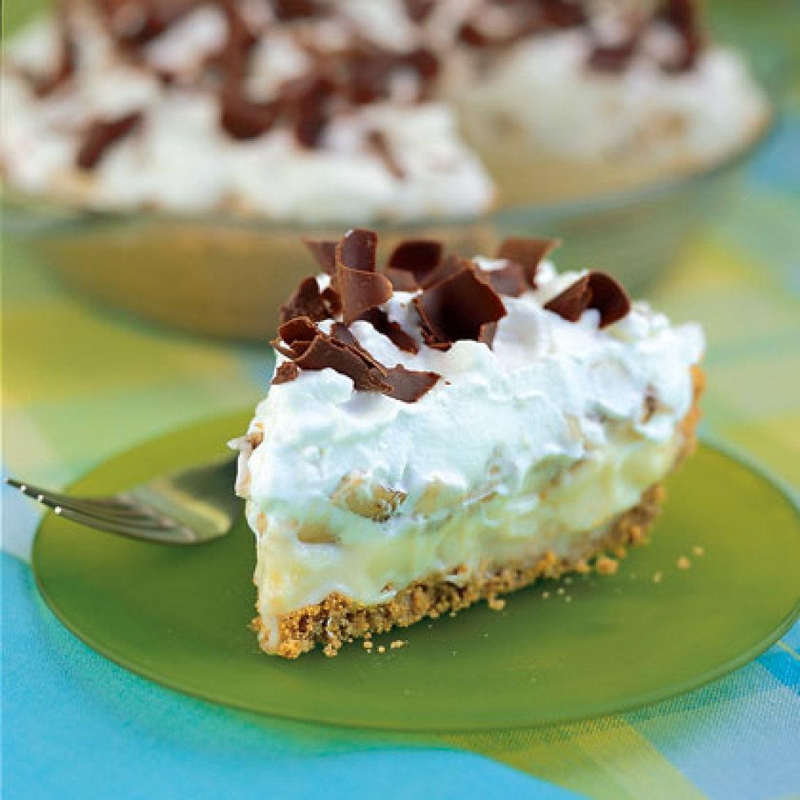 Banana Cream Pie Graham Cracker Crust  Banana Cream Pie Recipe
