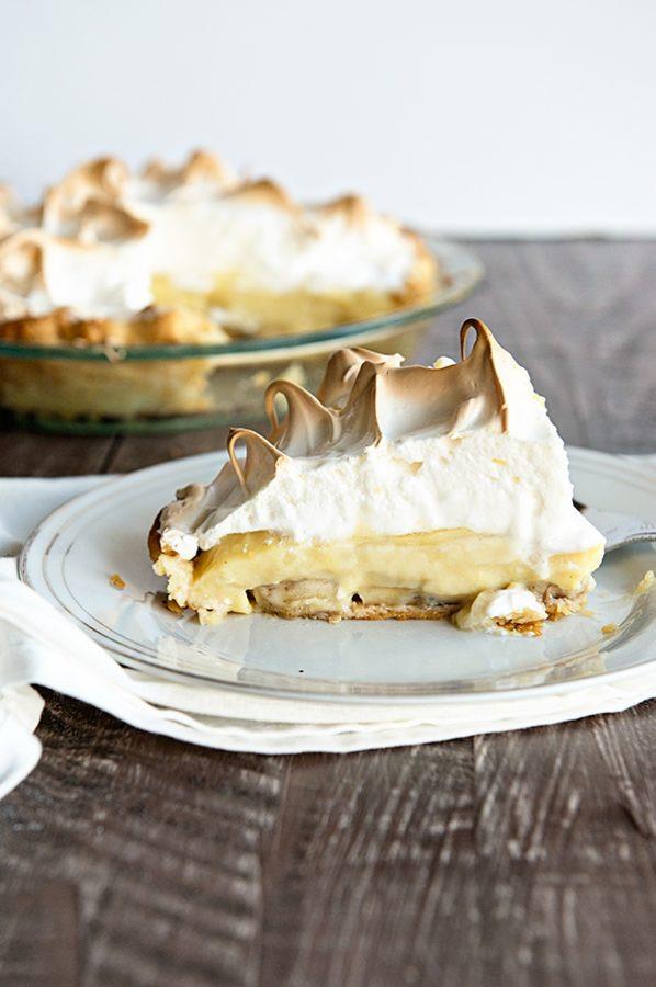 Banana Cream Pie Recipe  Banana Cream Pie Recipe Like Grandma s Dine and Dish