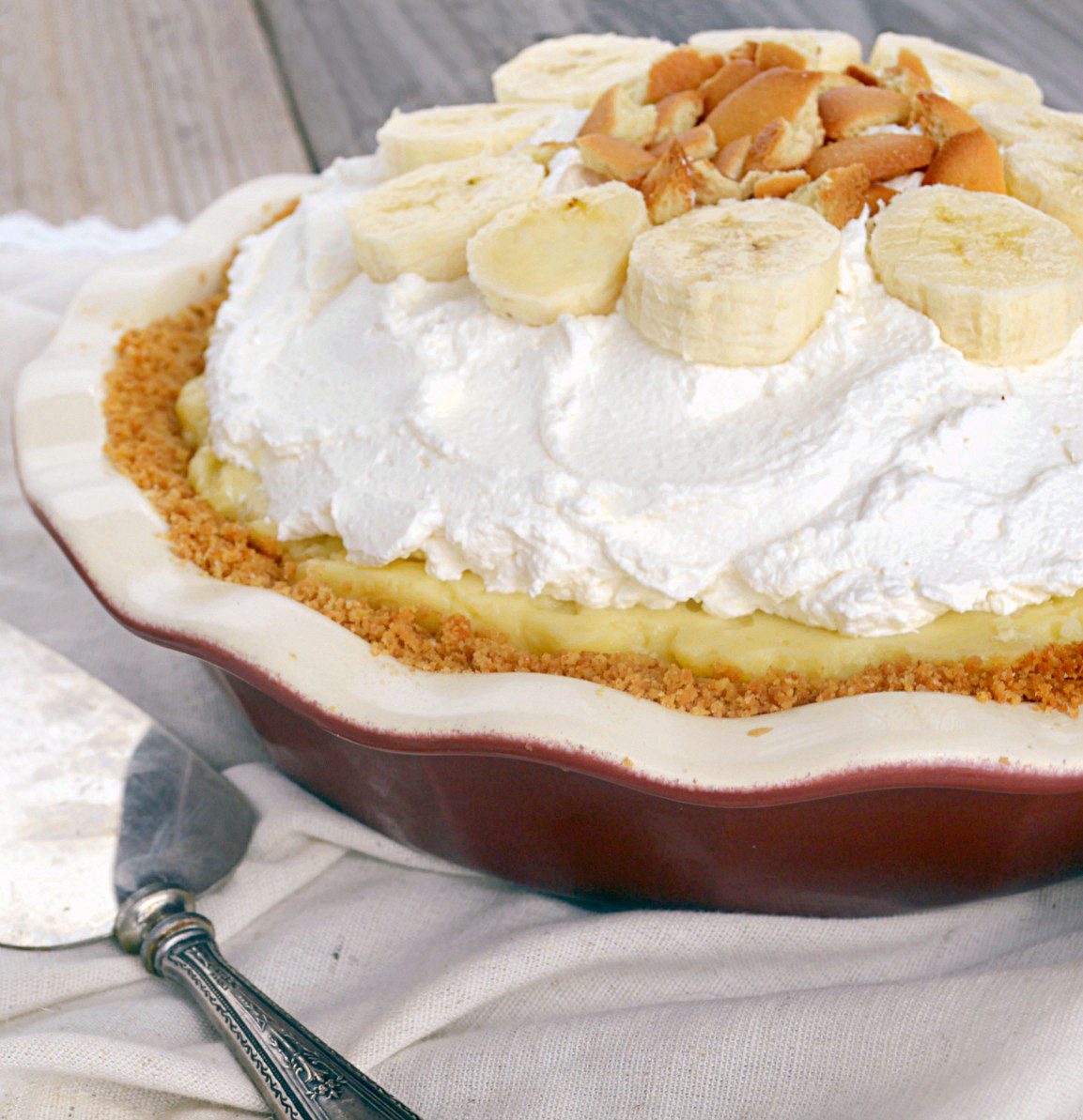 Banana Cream Pie Recipe  Banana Cream Pie Gonna Want Seconds