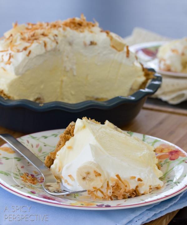Banana Cream Pie Recipe  Banana Cream Pie Recipe A Spicy Perspective